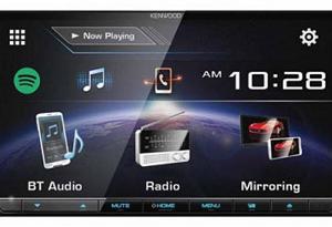 DDX-7017BT رادیو دی وی دی مانیتور7 اینچی ، 2 دین با usb و بلوتوث دو کانال