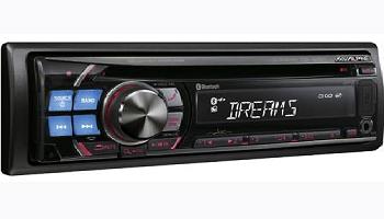 Alpine CDE-125EBT USB CD Receiver AUX Bluetooth