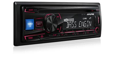 Alpine CDE-150 USB CD Receiver AUX