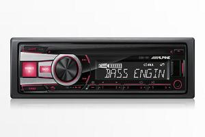 Alpine CDE-151 USB CD Receiver AUX