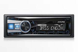 Alpine CDE-152 USB CD Receiver AUX