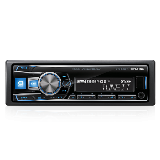 Alpine UTE-62EBT USB Receiver Aux Bluetooth