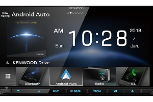 Built-in Wi-Fi®, 6.8 inch HD Capacitive Touch Screen AV Receiver DDX9018SM