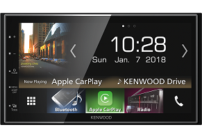 "Kenwood DMX7018BTS - 6.8"" Digital Media AV Receiver with Smartphone control & Bluetooth"