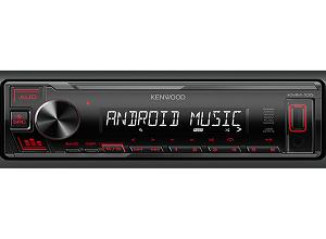 Kenwood KMM-105 - USB - Receiver Aux