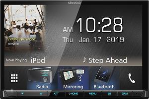 "Kenwood DMX7019BT : 2Din 7"" Monitor usb Bluetooth Receiver"