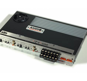 AUDIO SYSTEM TWISTER IV SERIES F4.400 STEREO POWER AMPLIFIER