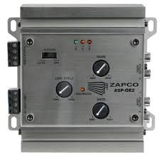Zapco ASP-OE2 : OEM 2/4 Channel Signal Level Converter