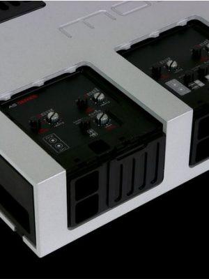 GLADEN AS 200.4 s : Mosconi Gladen 4 Way Amplifier - 200 Watt per channel 4 Ohm