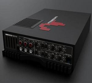 gladen one 70.6:6 channel amplifier Black finishing-70 Watt per channel 4 Ohm