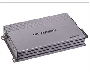 GLADEN RC 70c4 : 4-channel amplifier analog - High-Level with Auto Sense