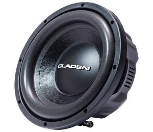 Gladen RS-X 10 Slim : Subwoofer - 10″/25 cm