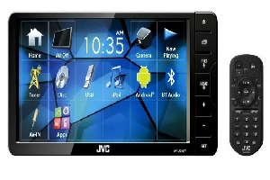 DVD/CD/USB Receiver with 7-inch WVGA Touch Panel Monitor and Bluetooth® Wireless Technology