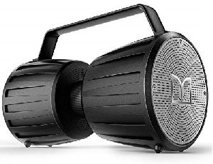 IPX7 Bluetooth Speaker, Adventurer Force IPX7 Waterproof Wireless Speaker 5.0 with Microphone Input, 40W Portable Bluetooth Speakers with 40H Playtime for Indoor Outdoor Party, Black