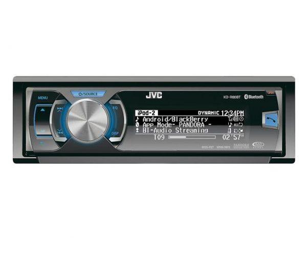 رادیو پخش تک دین جی وی سی(AUX،USB،CD،Bluetoth